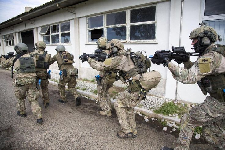Finnish special forces training in Nato´s Trident Juncture 2015