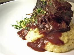 Image result for braised veal shanks with polenta
