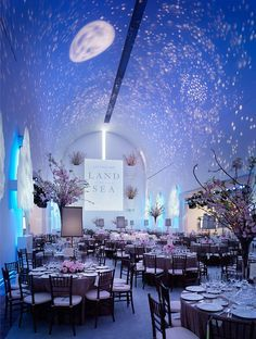 Resultado de imagen de a night under the stars wedding themes