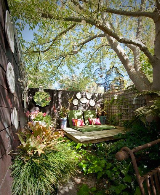 78+ Ideas About Small Backyards On Pinterest