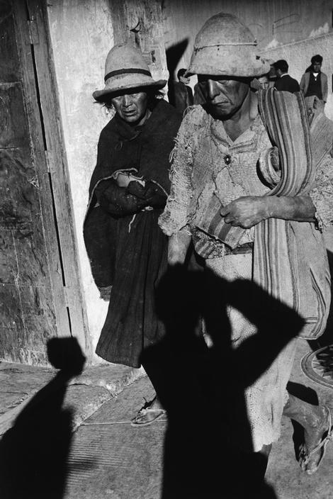 Sergio Larrain 1957 Bolivia. Potosi.