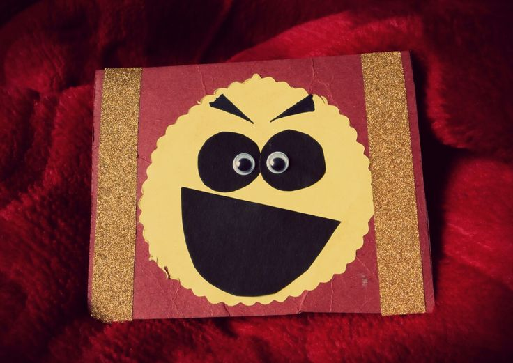 Handmade craft #16 : Monster card.. It's funny... :D
