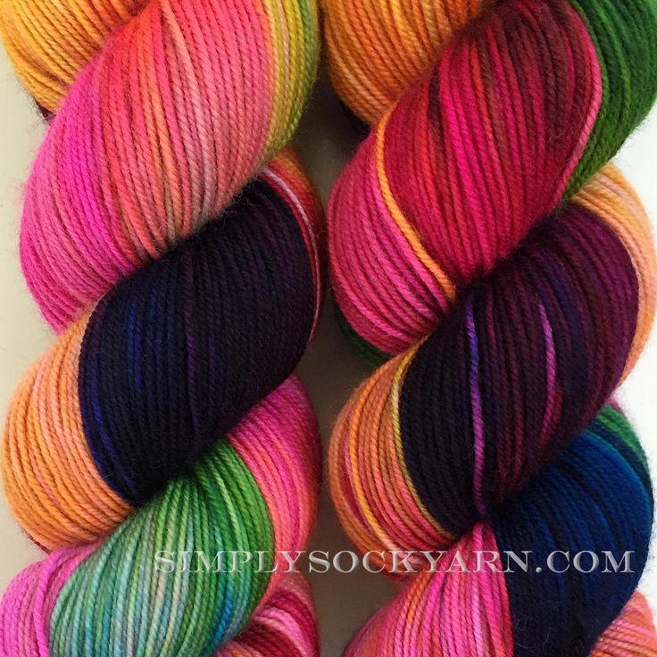 Simply Socks Yarn Company - MB Hot Shot Perfectly Wreckless, $26.00 (http://www.simplysockyarn.com/mb-hot-shot-perfectly-wreckless/)