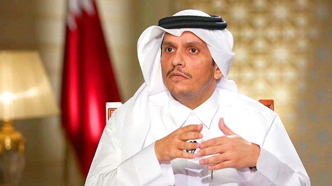 قطر تعلق على علاقتها مع إيران عقب المصالحة الخليجية قال وزير الخارجية قطر الأزمة الخليجية السعودية الإمارات إيران Www Alayyam Info In 2021 Nun Dress Fashion