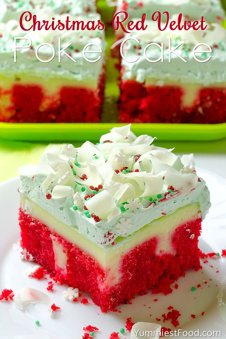 Jello poke layer cake recipe