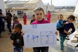 A partir de esta imagen pretendo inculcar a los niños y niñas valores antirracistas, además de valorar lo que tenemos e iniciar una campaña solidaria hacia las personas refugiadas.