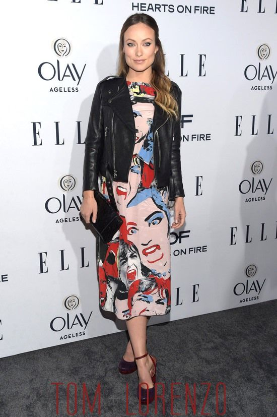 Olivia Wilde in Marc Jacobs at the ELLE 2016 Women in Television Dinner