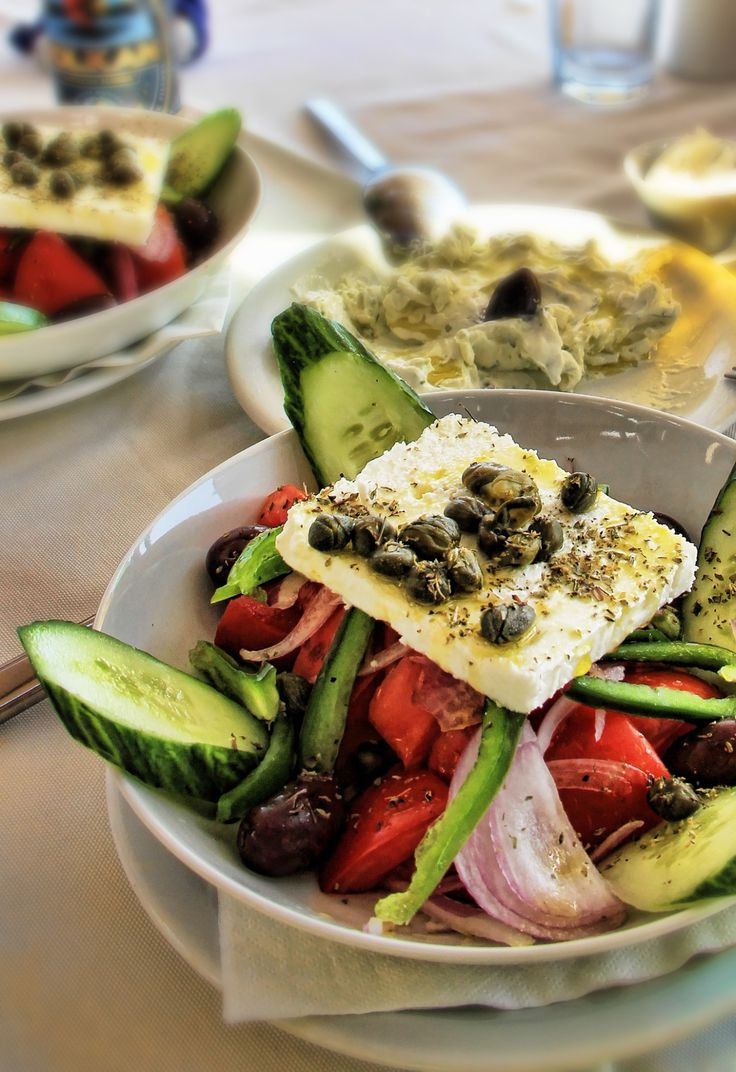 The Most Epic #Greek #Salad