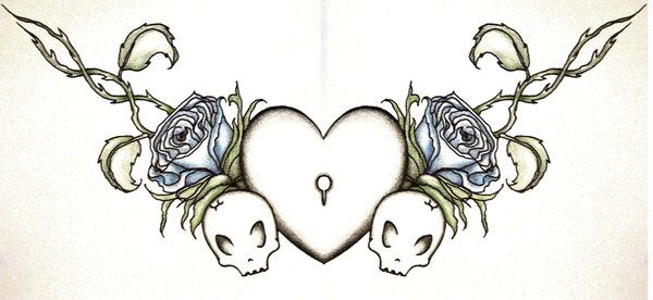 Chest Tattoo by disorder-city.deviantart.com I want this as a base for my old tattoo... OR SOMETHING. I love this design.