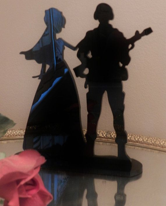 This is kind of cute    Military Army Soldier  Wedding Cake topper Groom by spartacarla, $45.00