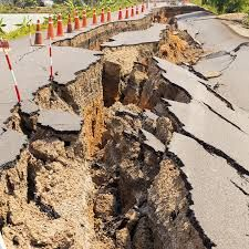 Earthquake A series of vibrations induced in the earth's crust by the abrupt rupture and rebound of rocks in which elastic strain has been slowly accumulating.