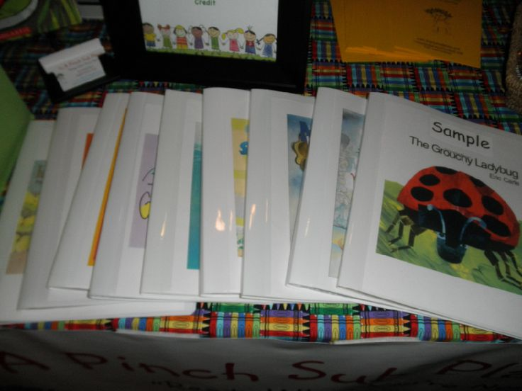 Emergency Sub plan kits! A whole day's worth of plans based around a book.