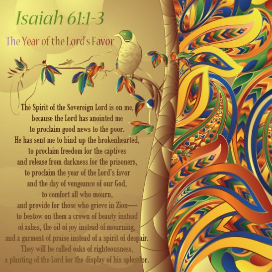Image result for image of Isaiah 61:1