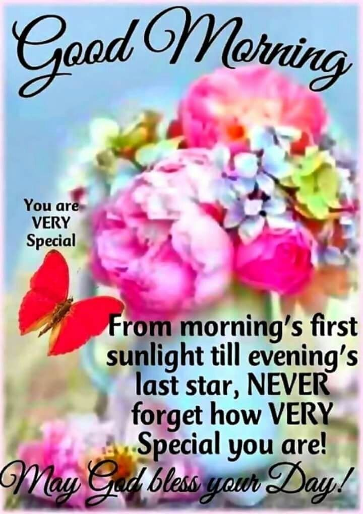 Good Morning Beautiful I Wish You A Wonderful And Blessed Day Your