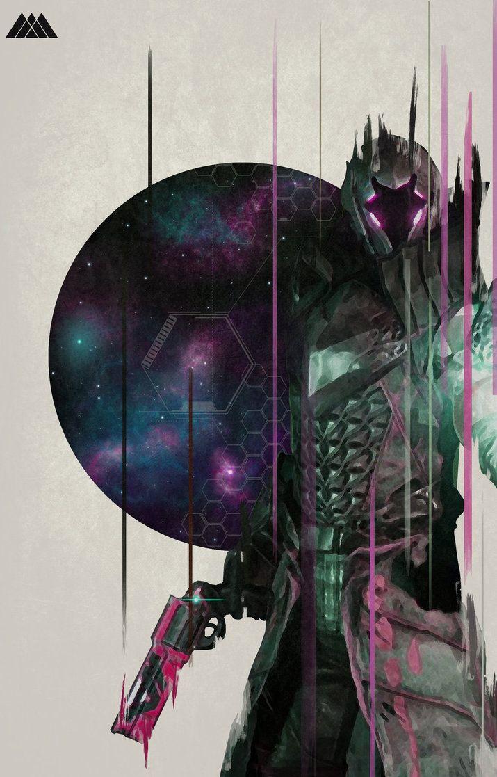Warlock Raid by Noble--6 on DeviantArt