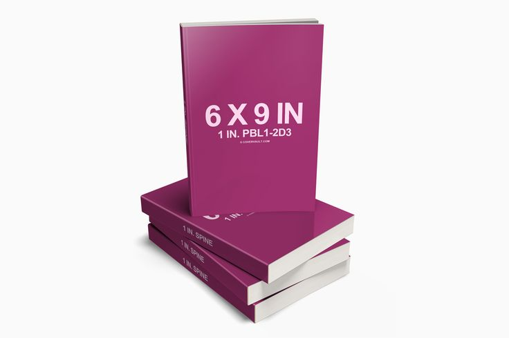 6 x 9 Stacked Paperback Book PSD Mockup from http://covervault.com/
