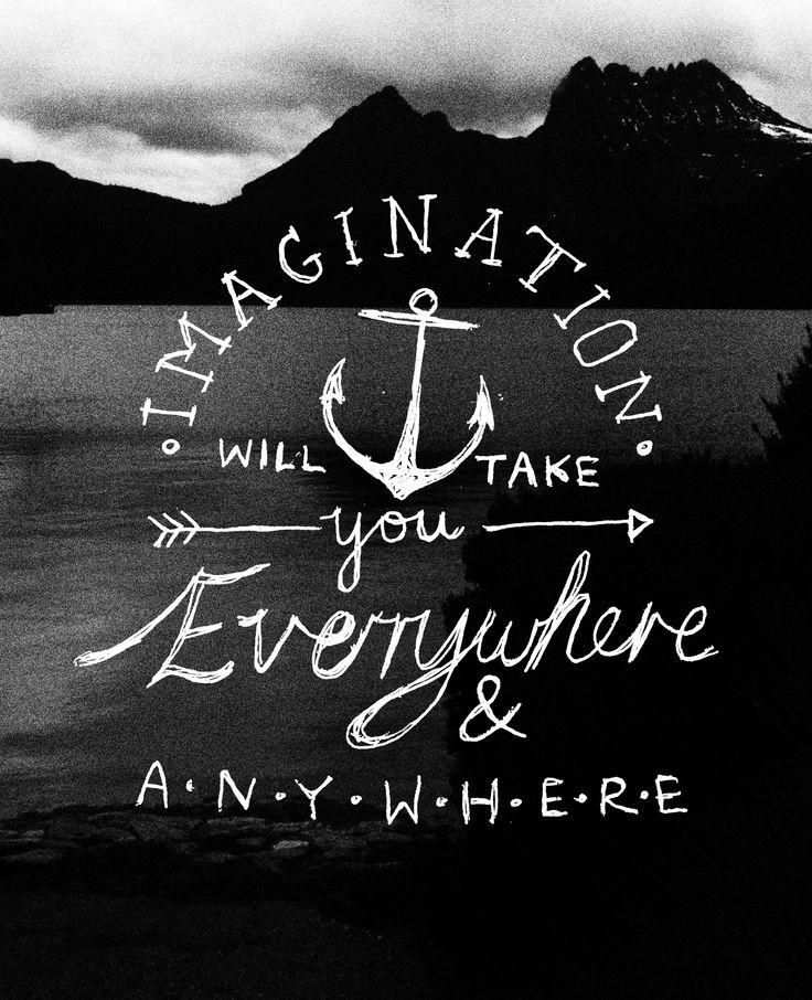 Imagination by Emma Wadley - photo taken at Cradle Mt :)