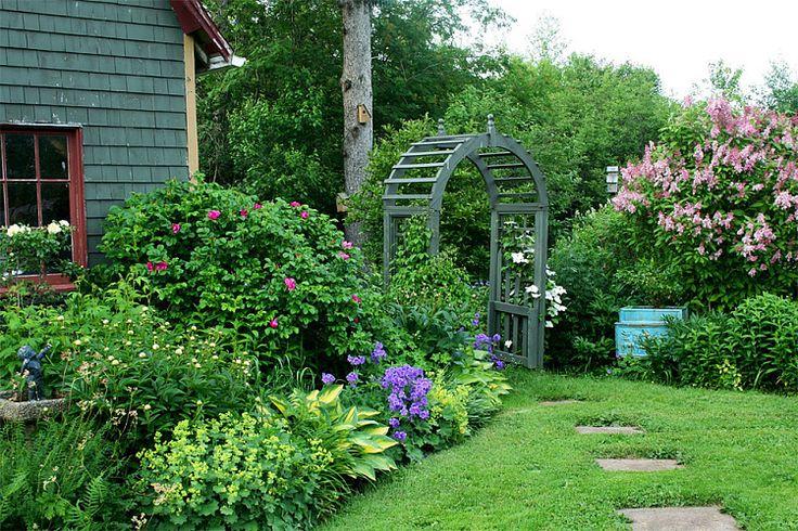 Красивые сады и дворики фото