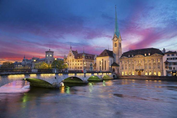 Picturesque Zurich