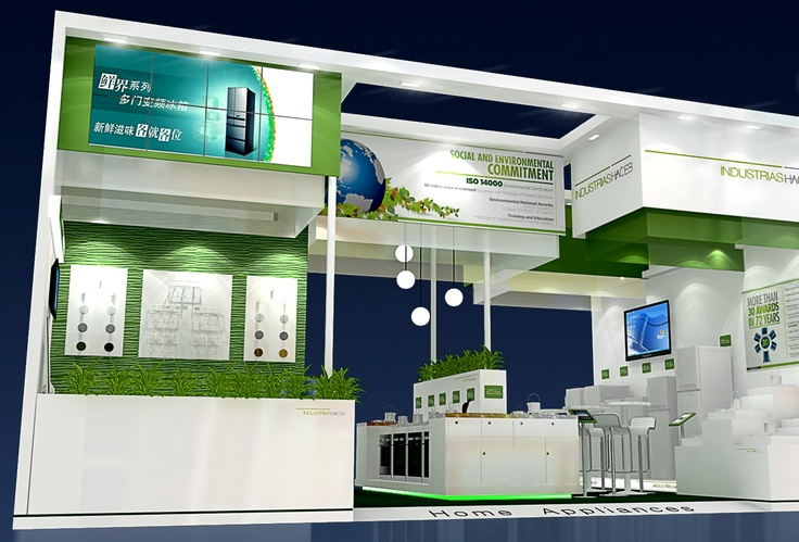 Stand Haceb, Canton Fair China