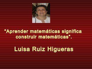 Matemáticas constructivistas