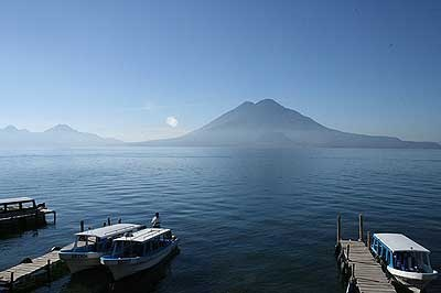 Lake Amatitlan Guatemala