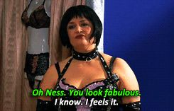 Nessa from 'Gavin and Stacey' is my spirit animal, truth be told.