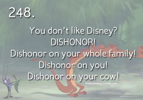 Dishonor on your COW! Lurrrveee this movie!