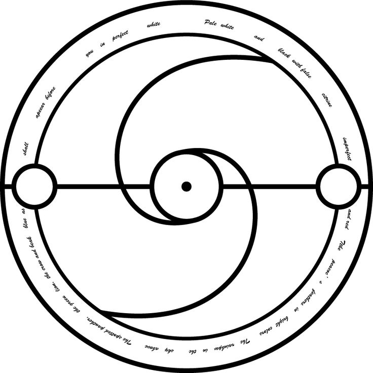 17 best images about transmutation circles on pinterest for Circular symbols tattoos