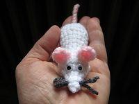 amigurumi, crochet, capcrochet, souris