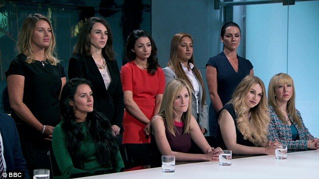 Here we go again: The female Apprentice contestants - later named Team Nebula - found them...