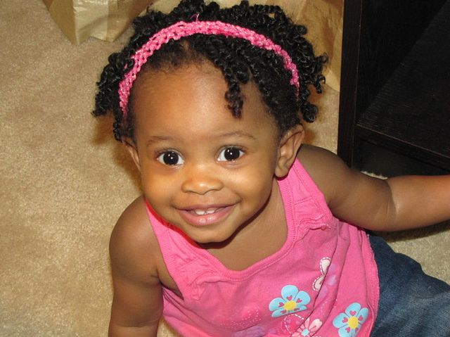 Hairstyles Girl Babies: 118 Best Images About Kids Natural Hair Twists On