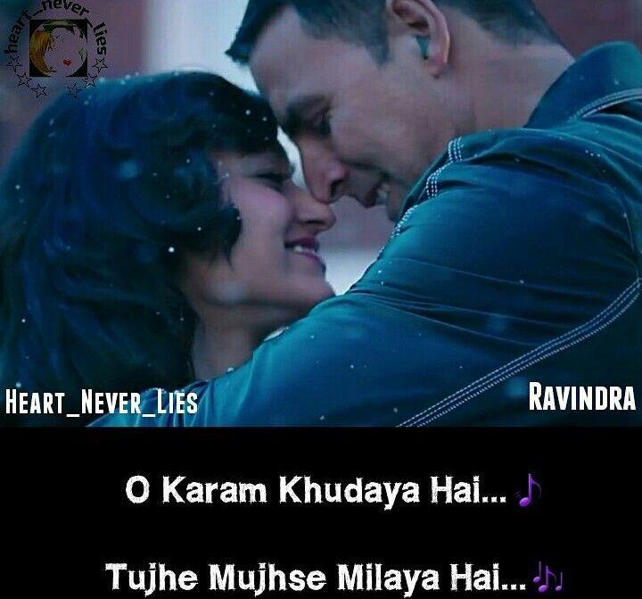 Damn Thiz Line... Tere SanG Yara Khush Rang Bahara