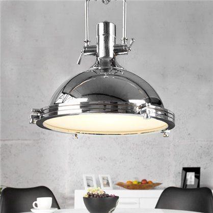 Lampa Industrial Loft 40, chrom