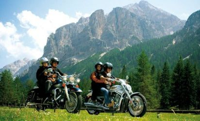 A hotel for motorcycling enthusiasts in South Tyrol