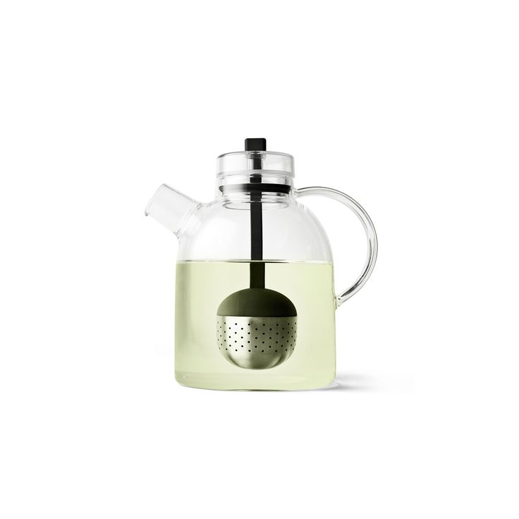 Glass Kettle Teapot with Tea Egg
