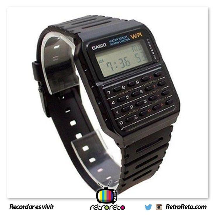 ¿Quién tuvo un reloj calculadora?  → http://www.RetroReto.com
