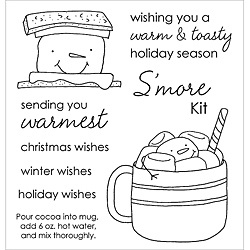 Stampers Anonymous Inky Antics 'Marshmallow Friends' Clear Stamp Set