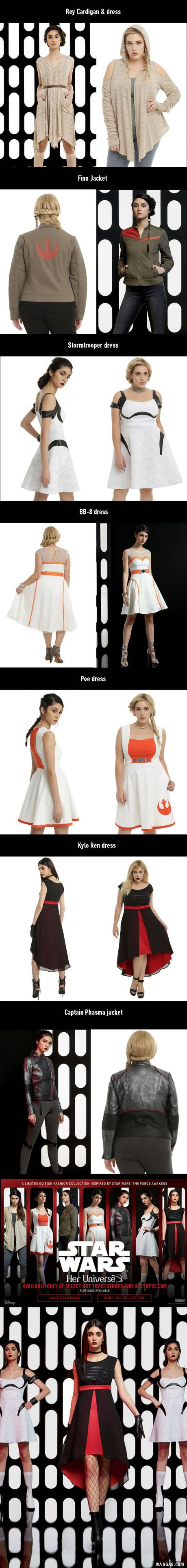 """For""""Star Wars"""" Fangirls: Size-Inclusive And Badass Clothings Line"""