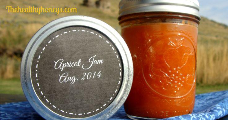 Real Food Apricot Jam Recipe