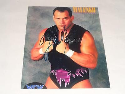 Dean Malenko WWE Autograph 8x10 COA Memorabilia Lane & Promotions