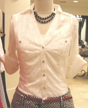 fashion adviceRed Belts, Fashion Advice, Gingham Pencil, Work Wear, Black Gingham, Pencil Skirts, Black Necklaces, White Blouses