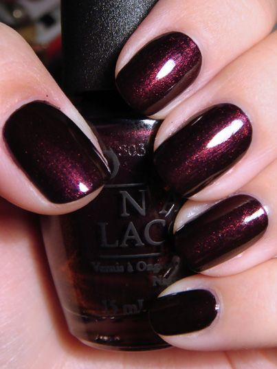 """We dubbed it """"Voluptuous Vamp"""" for fall ...   (by OPI but the real name is """"every month is October fest"""")"""