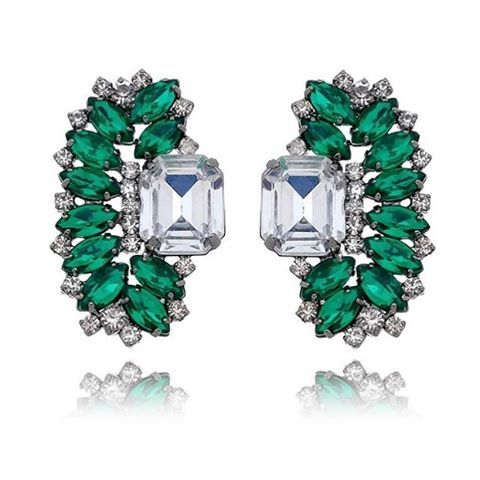 Brincos Mimi Esmeralda 🍭🤑😻 #accessory #jewelry #ювелирныеизделия #תכשיטים #jewellery #gem #gioielli #juweliersware #joyería