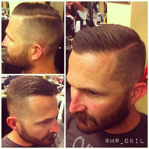 barber shop haircuts for men 117 best images about hair on pompadour s 6185 | 1d8ad4d783a046731bd9603c2562349b gentleman haircut cut hairstyles