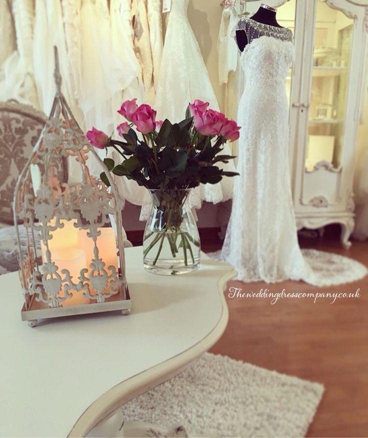 The wedding dress company Corbridge bridal boutique with shabby chic vintage decor. Stocking annasul y snow Augusta Jones Stella York enzoani eddy k la sposa by pronovias wtoo