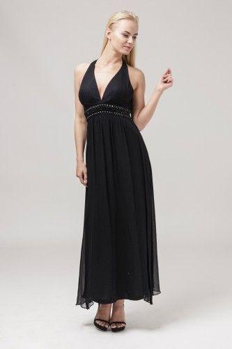 7989 sukienka wieczorowa #eveningdress #blackdress #partydress
