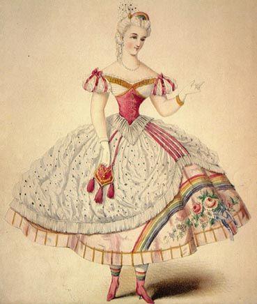 OMG, I think I may have found my next Halloween costume!!!  Victorian Rainbow Brite anyone?