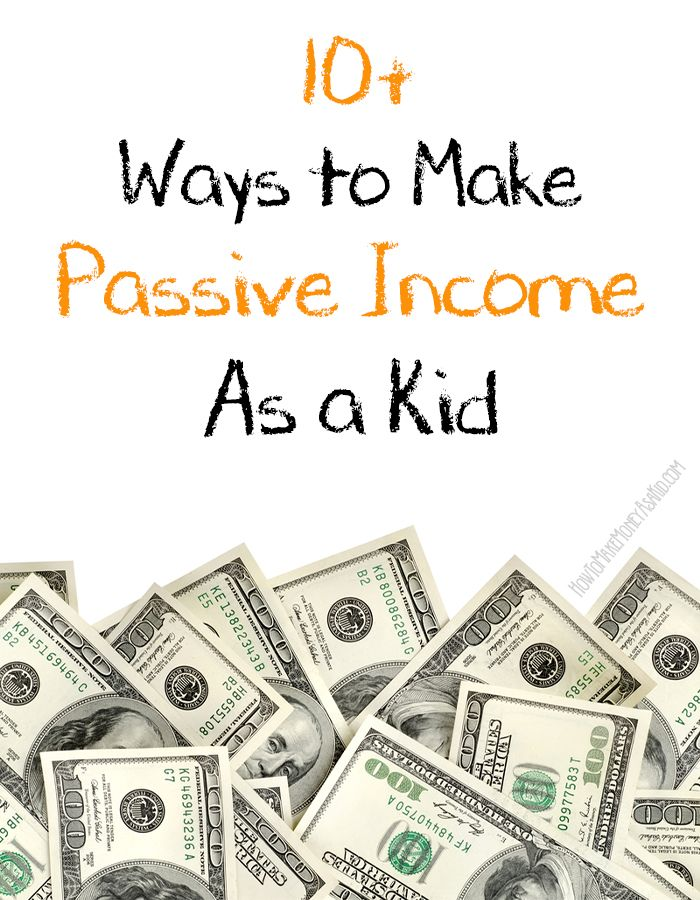 17 Best images about Kids earn $$ on Pinterest | Passive income ...