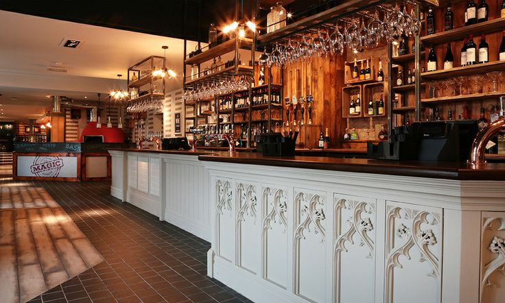 Bar at the florentine sheffield socialsheffield Sheffield interior design companies